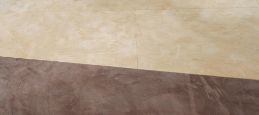 Suede two colors leatherflooring